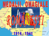 Medalii Omagiale Romanesti. 1914 - 1941.